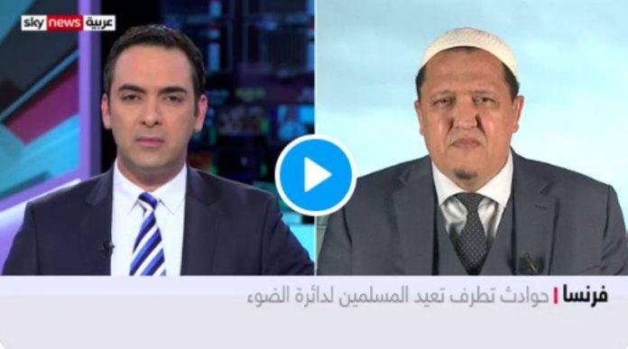 « Emmanuel Macron a choisi de parler aux ennemis via la chaîne de l'ennemi » Hassen Chalghoumi trahit Macron en plein direct - VIDEO