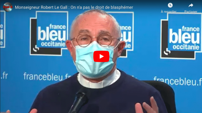 « On ne se moque pas impunément des religions » affirme l'archevêque de Toulouse - VIDEO