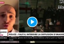 « Taha Bouhafs met en danger nos collègues » lâche un commissaire de police - VIDEO