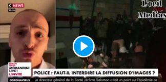 «Taha Bouhafs met en danger nos collègues» lâche un commissaire de police - VIDEO