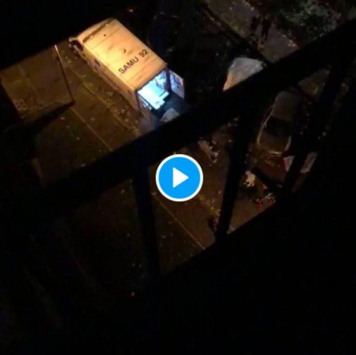 Colombes un policier assène un violent coup de matraque sur la tête de Ryan qui tombe inconscient - VIDEO (1)
