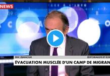 """Eric Zemmour jaloux des migrants : """"Moi aussi je veux être logé!"""""""