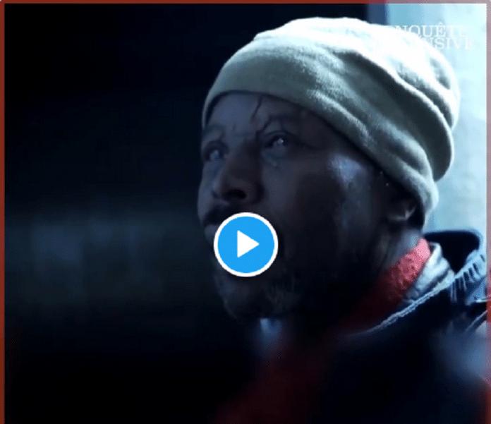 Ibrahim, SDF, filmé par M6, émeut la toile