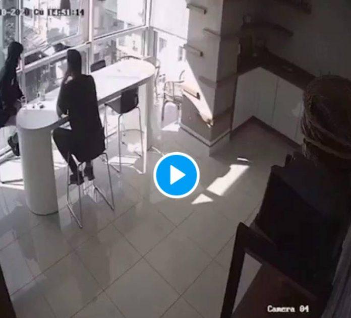Izmir les images inédites du tremblement de terre de l'intérieur - VIDEO
