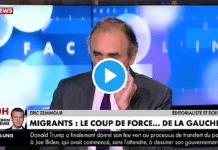 """""""On a le droit d'être brutaux sur des migrants"""" assure Eric Zemmour"""