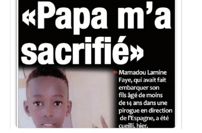 Sénégal : émoi après la mort de Doudou, 14 ans, lors de sa tentative pour rejoindre l'Italie