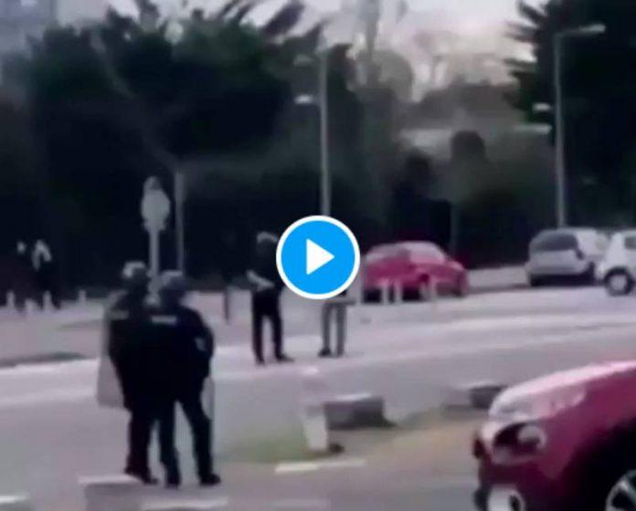 Saint-Nazaire une meute de police tabasse un jeune lycéen qui voulait juste discuter - VIDEO