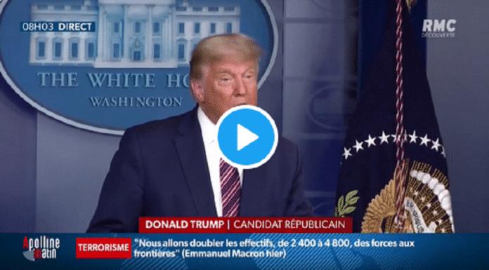 Scène inédite à la télévision américaine : les chaînes obligées d'interrompre le discours de Donald Trump