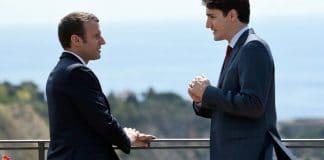 Tensions entre Emmanuel Macron et Justin Trudeau au sujet de la liberté d'expression