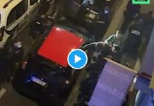 Une vidéo inédite prise par un voisin montre la violence inouïe dont a été victime Michel