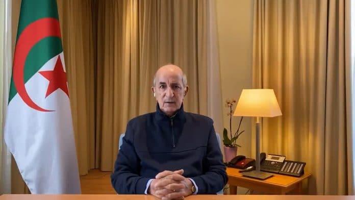 Algérie - le président Tebboune envoie un message aux Algériens et au Maroc depuis son hôpital - VIDEOAlgérie - le président Tebboune envoie un message aux Algériens et au Maroc depuis son hôpital - VIDEO