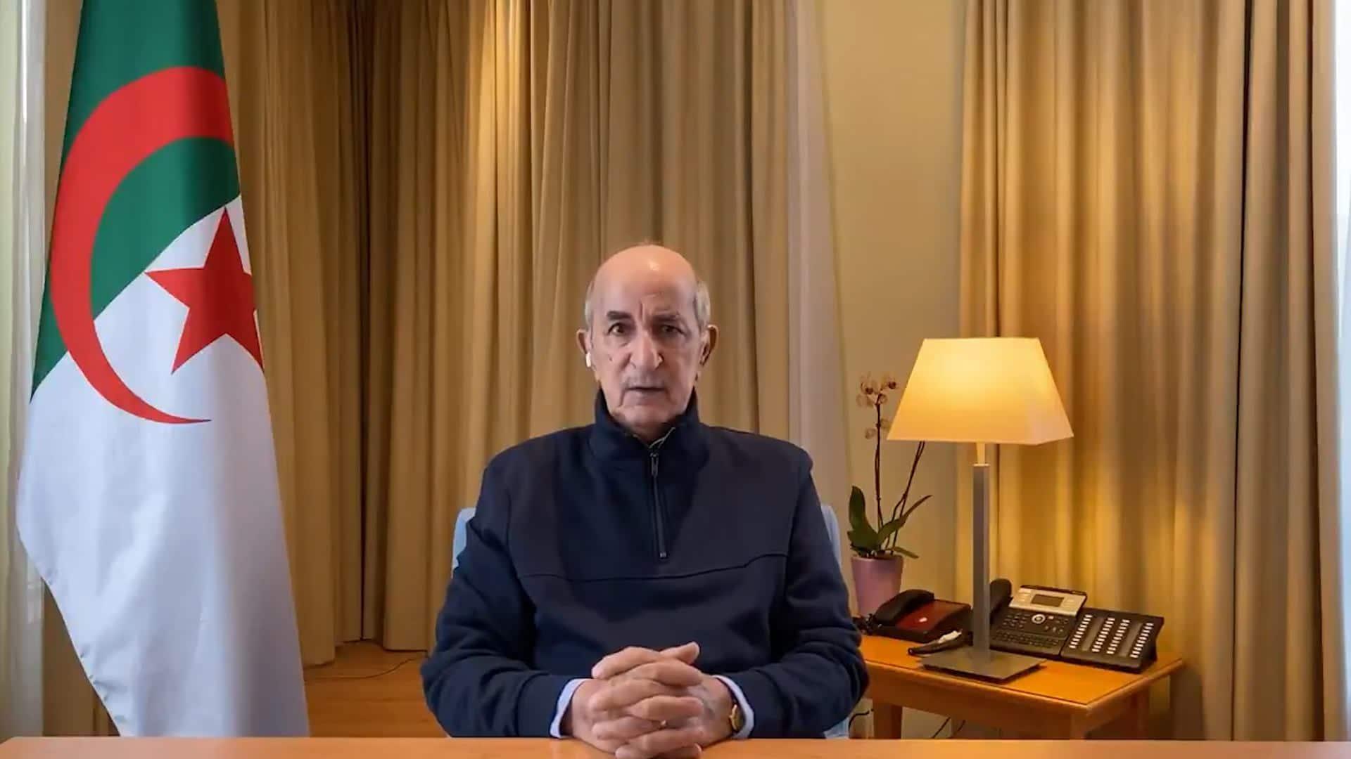 Algérie: apparition surprise du président Tebboune