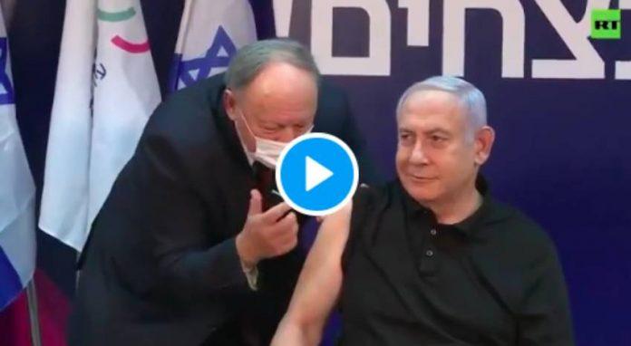 Coronavirus Benjamin Netanyahu, premier homme politique à se faire vacciner en direct - VIDEO