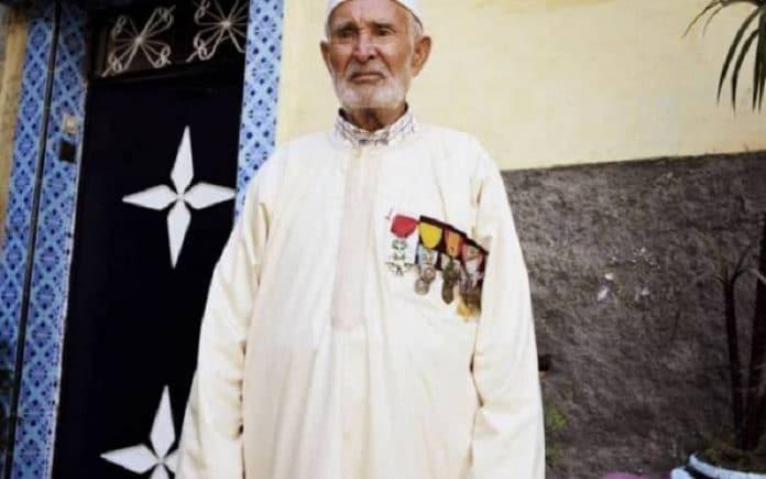 Hammou Moussik, goumier marocain, l'une des personnalités qu'Emmanuel Macron veut honorer