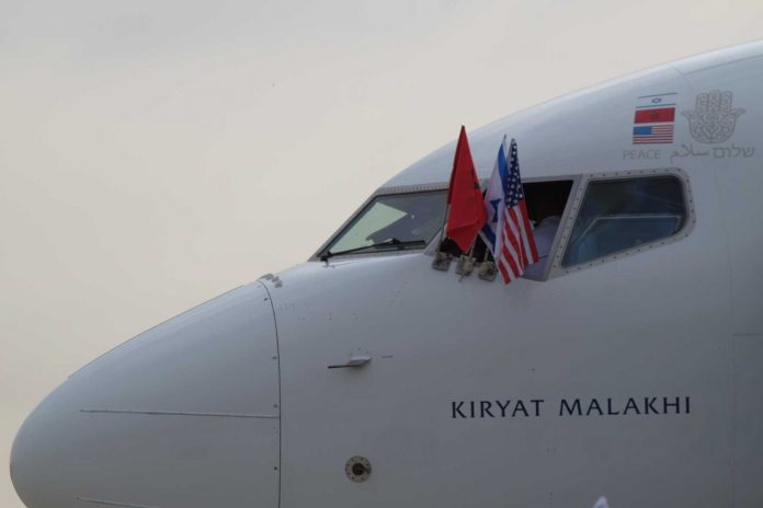 Le premier vol entre le Maroc et Israël affichera le symbole de la main de Fatma