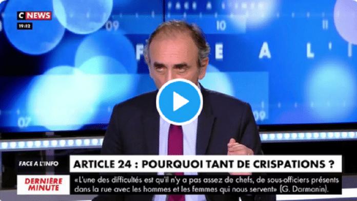 Michel Zecler violemment frappé : Eric Zemmour défend les policiers,