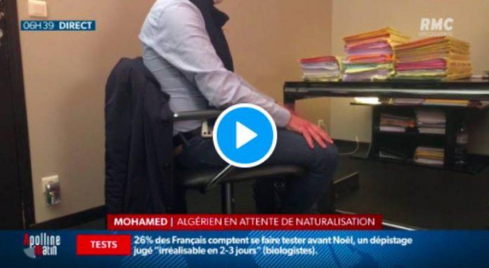 Mohamed se voit refuser sa demande de naturalisation «parce qu'il a trop travaillé» - VIDEO