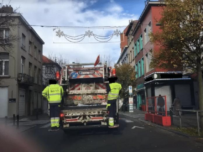 Un camion poubelle circule avec un drapeau turc, une enquête est ouverte