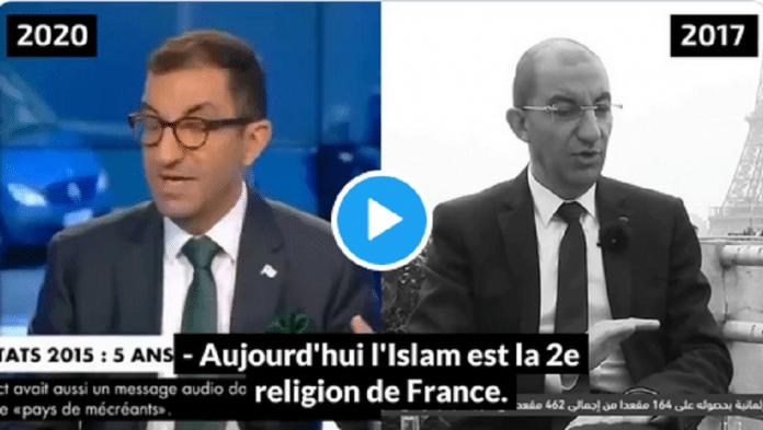 Une vidéo montre comment, en 2017, Jean Messiha défendait les valeurs de l'Islam