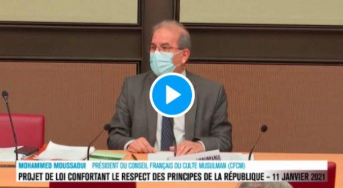 «Je suis contre le fait de faire porter le voile à des enfants» déclare le président du CFCM - VIDEO