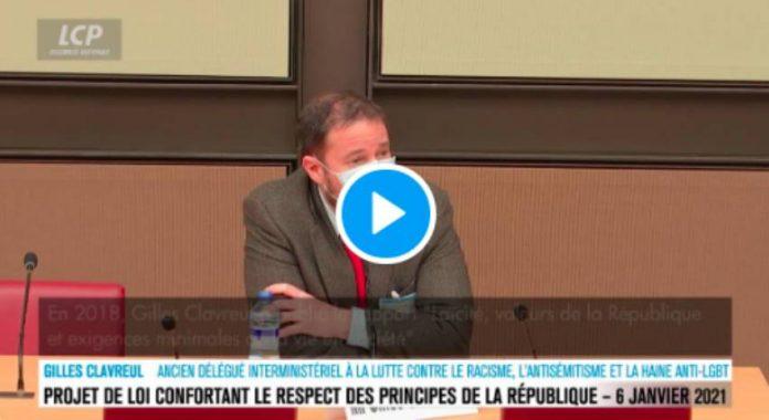 «La loi sur le séparatisme vise à protéger les musulmans» déclare Gilles Clavreul - VIDEO