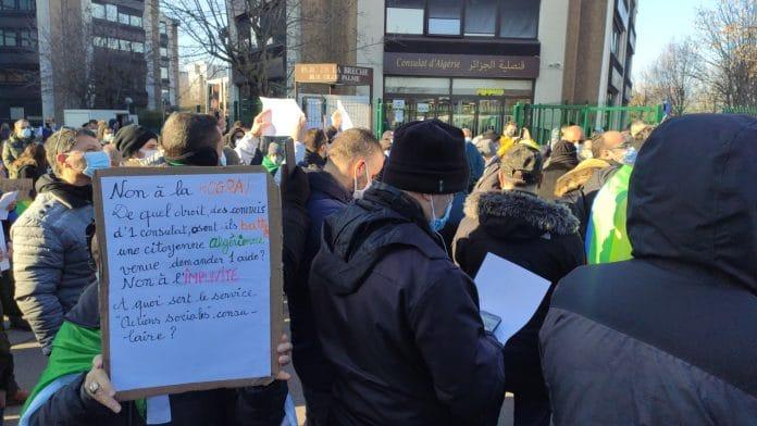 Agression d'une étudiante au consulat d'Algérie à Paris, le consul donne sa version des faits