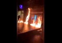 Belgique Bruxelles en feu après la mort d'Ibrahima suite à une interpellation policière - VIDEO