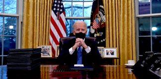 Biden met fin à l'interdiction de Trump de voyager depuis les pays musulmansBiden met fin à l'interdiction de Trump de voyager depuis les pays musulmans