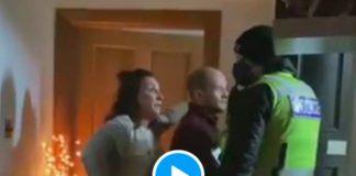 Covid-19 la police écossaise tabasse une famille dans sa maison parce qu'ils «faisaient la fête» (1)