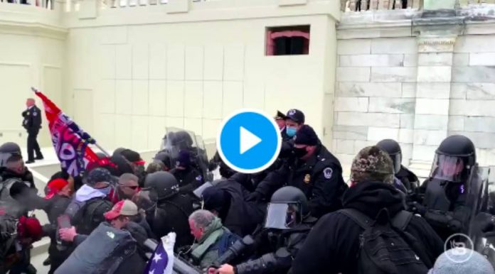 Elections USA Les partisans de Donald Trump prennent d'assaut le Capitole - VIDEO2