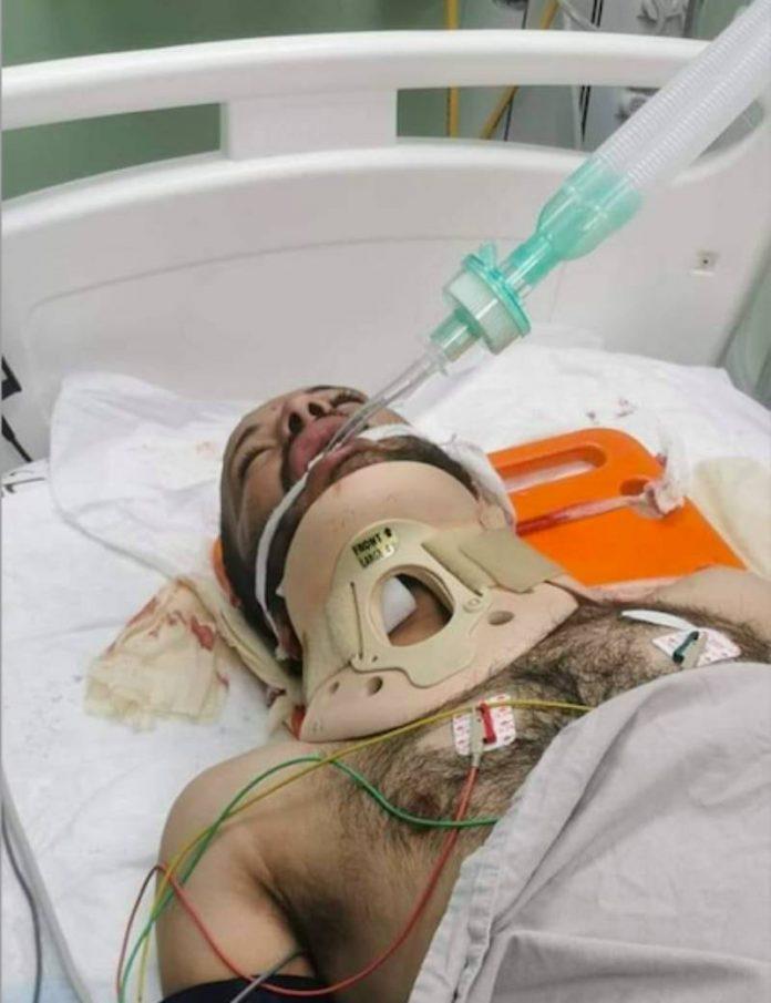 Haroun victime de tirs d'un soldat israélien entre la vie et la mort