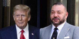 Le président américain Donald Trump reçoit la plus haute distinction du Maroc (1)