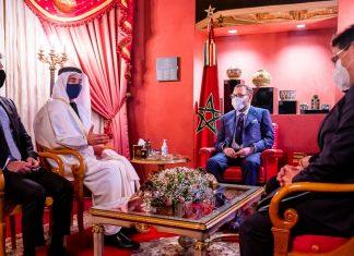 Maroc : Mohammed VI reçoit le ministre des Affaires étrangères des Émirats arabes unis à Fès