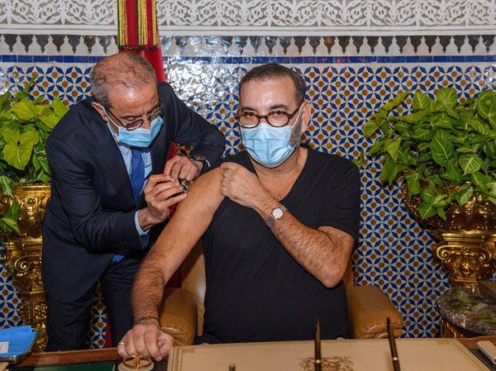 Maroc - le roi Mohammed VI lance la campagne de vaccination dans son pays