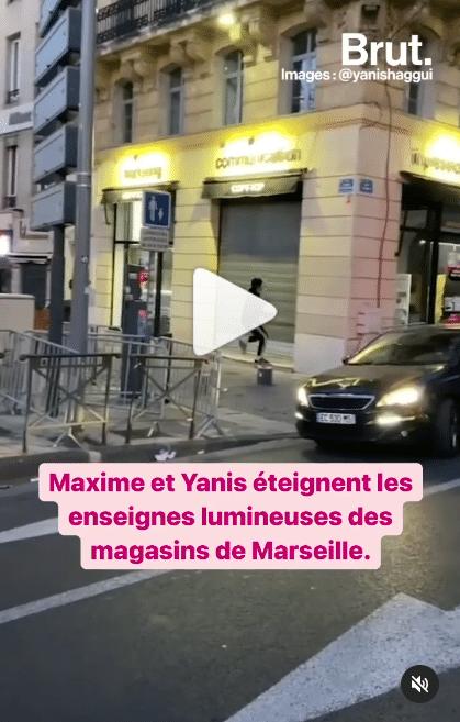 Yanis et Maxime, ces yamakazis éteignent les lumières des boutiques marseillaises