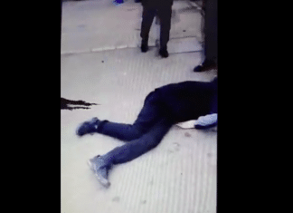 Strasbourg un véhicule de police percute un jeune en scooter et prend la fuite - VIDEO