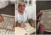 Un Syrien a terminé l'écriture du Noble Coran à la main après 3 ans d'effort