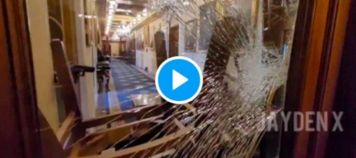 Une vidéo montre l'assassinat par des policiers de la femme qui s'est introduite au sein du Capitole (1)