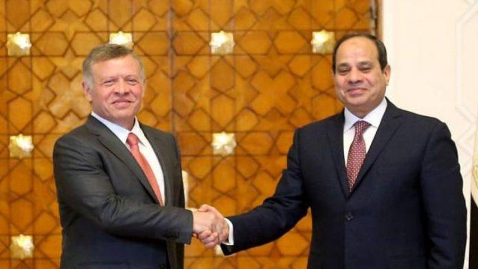 El Sissi visite le prince héritier de Jordanie