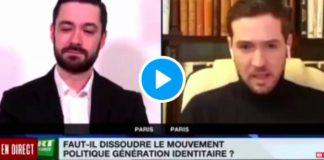 «Le CCIF est mouillé avec des entreprises terroristes!» David Guiraud tacle le porte-parole de Génération Identitaire - VIDEO
