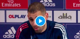 A Lyon, le nouvel attaquant Islam Slimani ce sent «comme en Algérie» - VIDEO