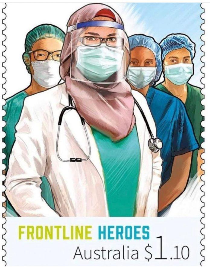 Covid-19 - L'Australie lance une timbre nationale pour rendre hommage aux femmes musulmanes