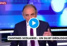 Eric Zemmour « A la cantine, il y a des tables de musulmans et des tables d'impurs » - VIDEO
