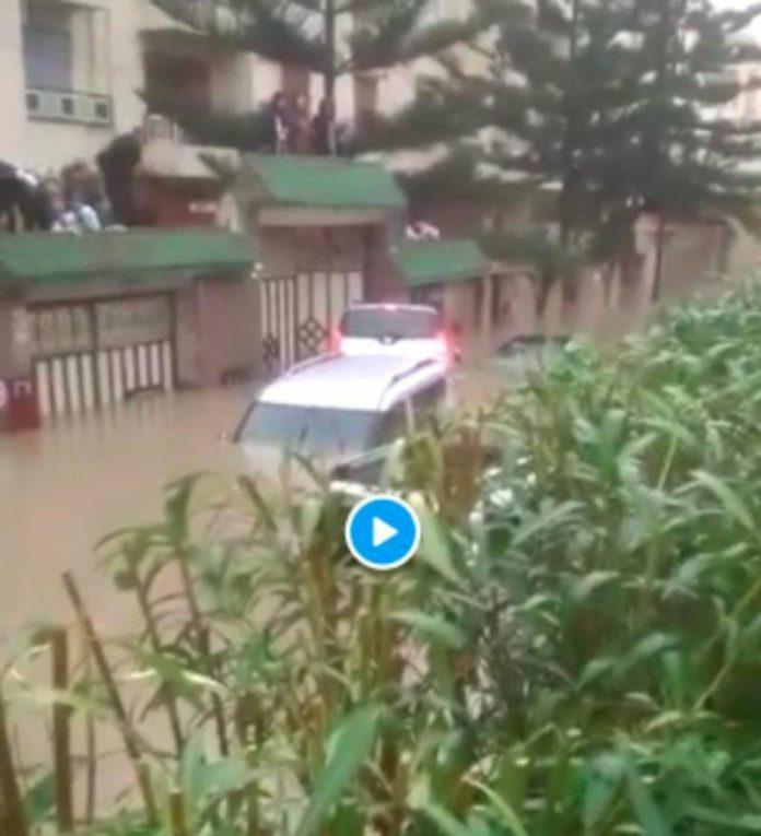 Inondation Maroc au moins 24 morts par électrocution dans un atelier de textile à Tanger - VIDEO