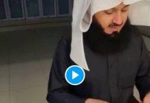 Insolite Le célèbre Mufti Menk publie une vidéo de lui tricotant pour ses enfants - VIDEO