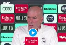 Real Madrid la grosse colère de Zinedine Zidane face à un journaliste - VIDEO