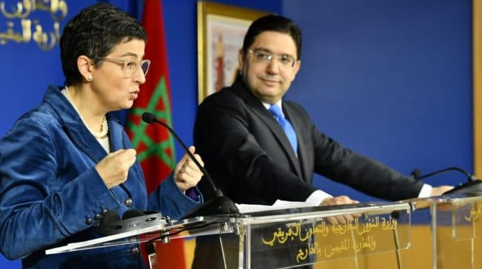 Sahara occidental - le Maroc tente de faire plier l'Espagne