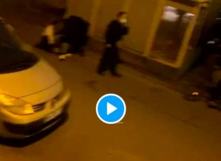 Sarcelles Mara Kanté, militant associatif, violemment interpellé par la police - VIDEO