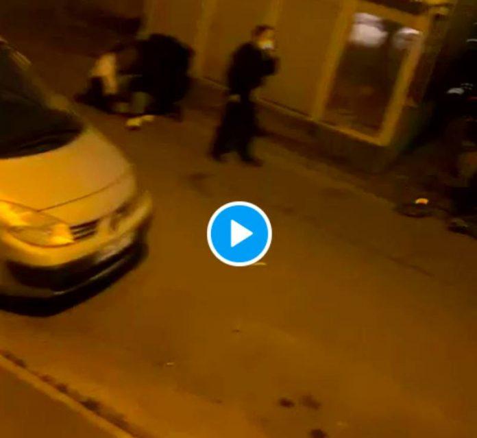Sarcelles Mara Kanté, militant associatif, violemment interpellé par la police - VIDEO