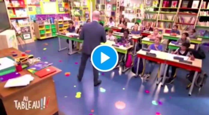«C'est vrai qu'Emmanuel Macron s'est marié avec sa prof et vous avec votre élève ?» un enfant met Blanquer mal à l'aise - VIDEO